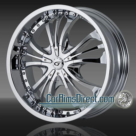 Rims  on Custom Chrome Rims    Gianna Rims