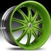 Lexani CS2 (Green, Chrome)