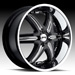 DUB Illusion 6 Option III (Black, Chrome)