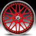 Asanti AF 120 (Red, Chrome)