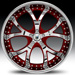 Asanti AF 143 (Chrome, Red)