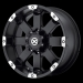ATX CRAWL (Series AX185) (Black, Machined)