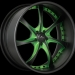 Savini SV-31s (Black, Green)