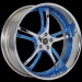 Savini SV-32s (Chrome, Blue)